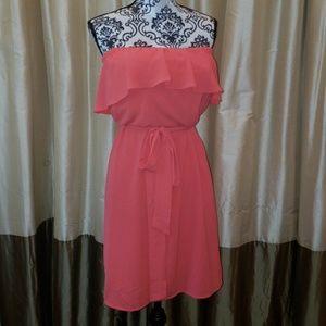 Michael Kors strapless dress